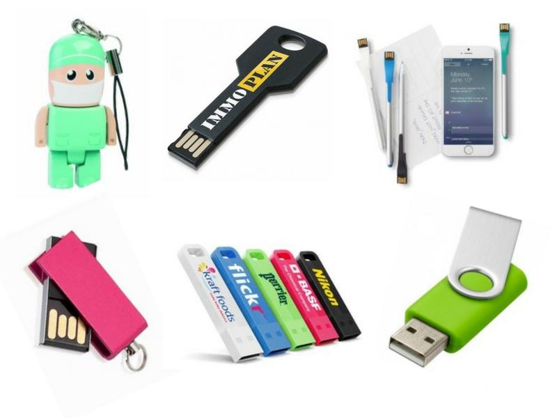Les clés USB existent sous toutes les formes