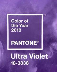 Pantone propose une couleur mystérieuse et stimulante pour 2018