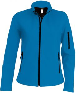 La veste softshell est un excellent coupe-vent
