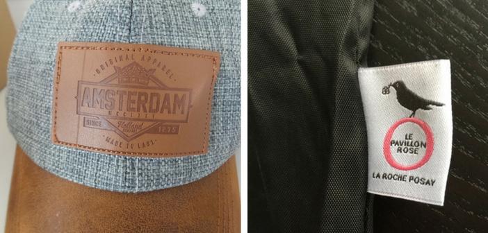 Les étiquettes en cuir ou en tissu se prêtent à de nombreuses utilisations
