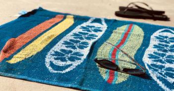 Avant l'été, place aux serviettes de plage personnalisées