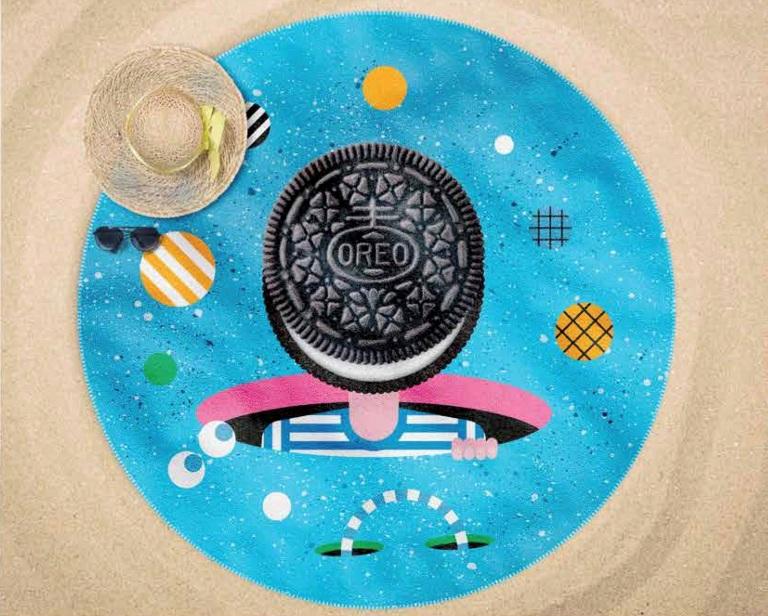 La serviette ronde, nouvelle star des plages
